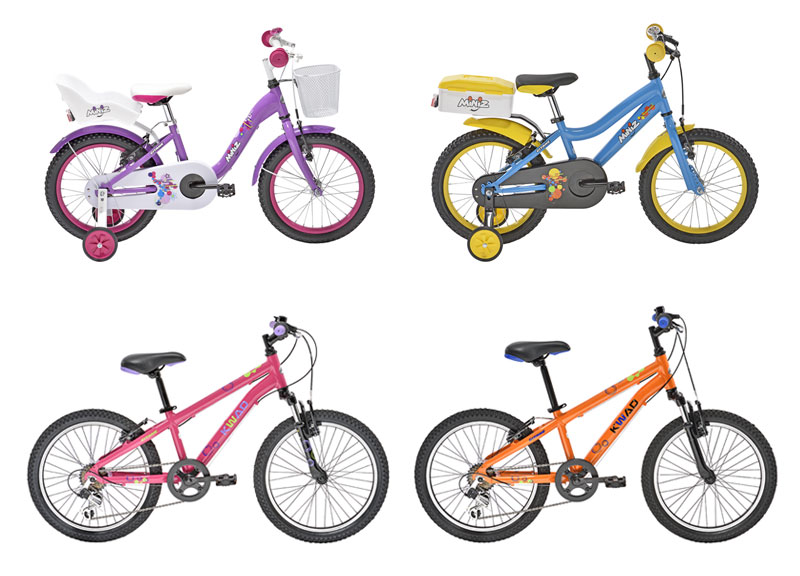 """Vélos 16"""" et 20"""""""